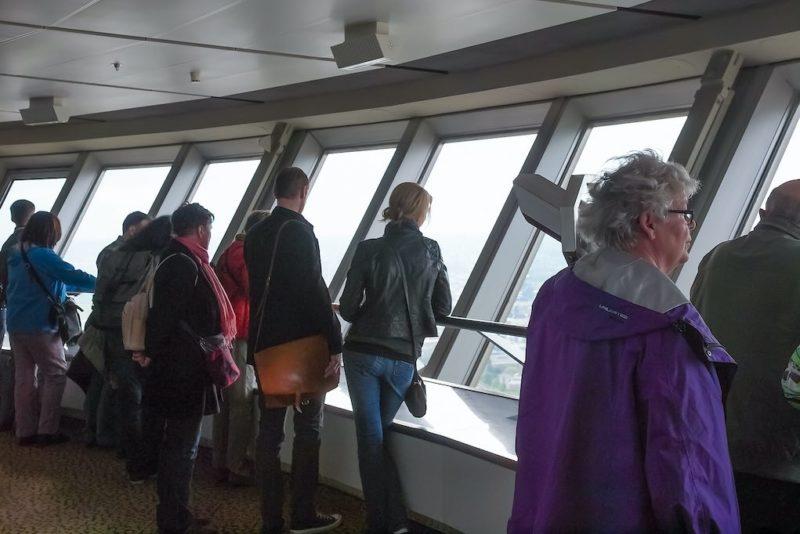 Blick von der Plattform des Berliner Fernsehturms
